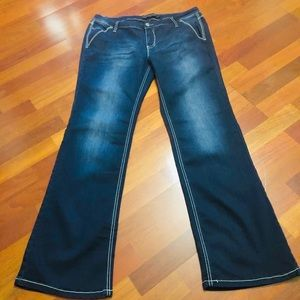 Women's sz 13/14 Rue 21 flare jeans